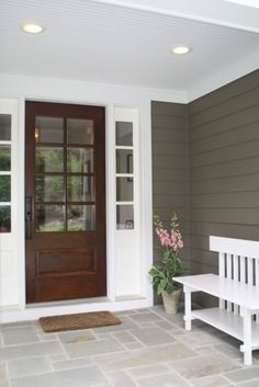 Love these exterior colors!!