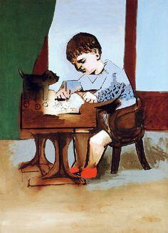 Picasso: Paul dessinant (1923)