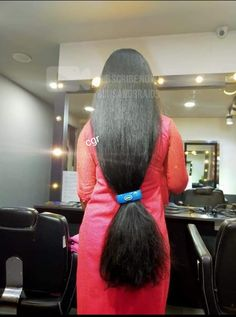 Long Ponytail Hairstyles, Braids For Long Hair, Indian Hairstyles, Really Long Hair, Super Long Hair, Long Silky Hair, Thick Hair, Long Indian Hair, Medium Hair Styles