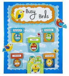 Carson Dellosa Boho Birds and Birdhouses Bulletin Board Set (110217) Carson-Dellosa http://www.amazon.com/dp/1620575604/ref=cm_sw_r_pi_dp_IzNaub1X0VGEK