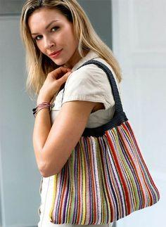 Hækl selv: Taske i glade farver fra Hendes Verden