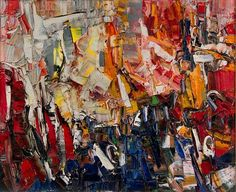 artnet Galleries: Lot No. 70: Folâtre by Jean Paul Riopelle from Keno Auctions