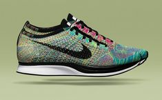 """Nike Flyknit Racer """"Multicolor"""" - I don't think I need racer since I'm not about speed, but these are just so purrttyyyy!"""