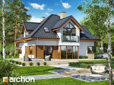 Archon+ Projekty domów - Dom w rukoli 5 (G2N) - widok 2