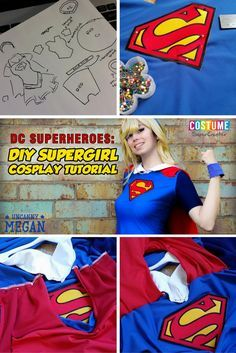 Create your own Supergirl costume with the help of this cosplay tutorial!  sc 1 st  Pinterest & Female riddler costume idea | Cosplay | Pinterest | Riddler costume ...