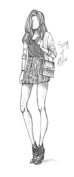 Sketch of Blogger Aimee Song by Rach