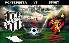 Ponte Preta vs Sport 10.07.2016 Free Soccer Predictions, head to head, preview, predictions score, predictions under/over Brazil: SERIE A