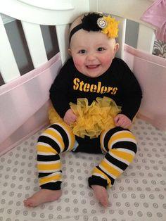 Pittsburgh Steelers NFL inspired Headband-Football Fan Accessories-Fall-Shabby Chic Headbands-Newborn-Toddler-Girls-Adults-Team Spirit on Etsy, $8.75