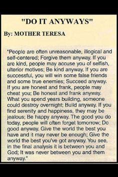 Mother Thresea