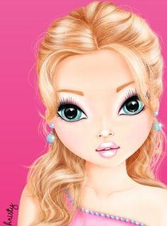 tolle designs zum ausmalen und selber zeichnen - jetzt im neuen topmodel make up malbuch makeup