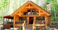 People Can't Stop Dreaming About this Perfectly Designed Log Home