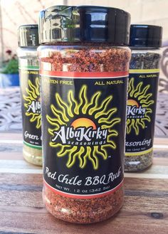 Red Chile Rub 12oz Mega Bottle