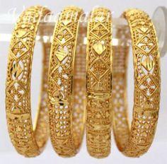 Bridal Gold Plated Bangles Catalogue 2016-17