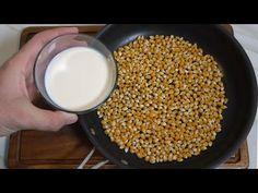 EL SECRETO DE LAS PALOMITAS MAS SABROSAS, MAS QUE LAS DEL CINE! - YouTube Best Popcorn, Sweet Cooking, Snacks To Make, Empanadas, Pickles, Biscuits, Buffet, Yummy Food, Delicious Recipes