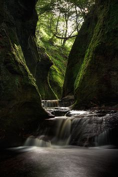 Finnich Glen, Scotland.I want to visit here one day.Please check out my website thanks. www.photopix.co.nz