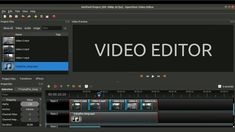 How to edit a video using a free open source video editor Name Tags, Open Source, All Video, Hd 1080p, Editor, Software, Songs, Videos