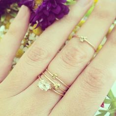 Gold Nugget Ring, $225.