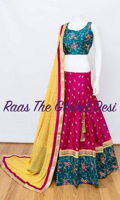 Shop Chaniya choli - handmade chaniya choli , ghaghra choli at afordable price Indian Wedding Outfits, Pakistani Outfits, Indian Outfits, Indian Clothes, Eid Outfits, Choli Designs, Lehenga Designs, Blouse Designs, Indian Gowns Dresses
