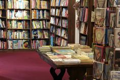 Daunt Books is an old bookshop that specialises in travel books, but you can find all sorts of joy on the shelves of its Marylebone branch.
