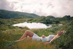 Soria Moria - Vilde Solli Hjertholm  dreamy chill landcape hot girl