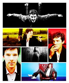 Benedict Cumberbatch. He's so hot! I can't wait to see him in the next Star Trek movie and as Smaug in The Hobbit.