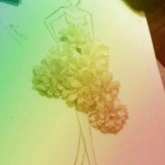 3D flower's in my desain ..