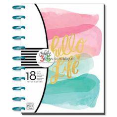Me & My Big Ideas Create 365 Happy Planner Large Stay Golden (aangepaste garantie)