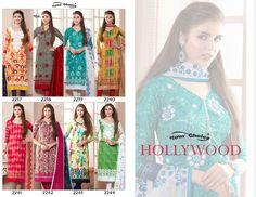 Womens Printed Unstitched Regular-Wear Dress-Material Free Size salwar kameez #VisvabhavanahMart #RegularWearDress #Formal