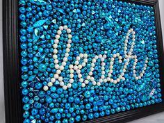upcycle=Mardi Gras beads