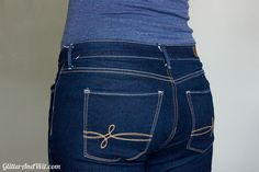 How to Take in a Jeans Waist - The Sewing Rabbit Make Skinny Jeans, Altering Jeans, Sewing Hacks, Sewing Tips, Sewing Projects, Sewing Jeans, Sewing Alterations, Sewing Techniques, Dressmaking