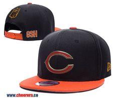 ac6c9eeb09cb New NFL Chicago Bears Adjustable Snapback Hat Nfl Chicago Bears, Baseball  Canvas, Legends Football