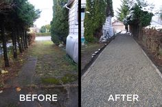 CORE Gravel dramatically improves the look of a driveway and the properties resale value.