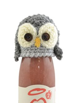 Ravelry: The Crochet Owl for the innocent Big Knit pattern by Val Pierce Owl Crochet Patterns, Crochet Owls, Owl Patterns, Cute Crochet, Knitting Patterns, Knitting Ideas, Wooly Hats, Knitted Hats, Big Knits