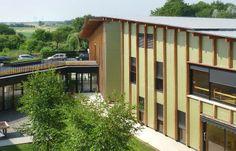 Nursing home and care centre for the elderly, Mervans, Saône-et-Loire, France
