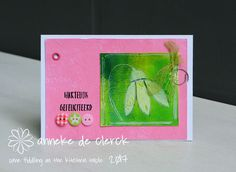 Some fiddling on the kitchen table: Pink & Green #2