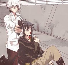 Nezumi and Shion