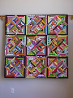 Wonderful use of basic string block - it's the colors and values that make it so special.