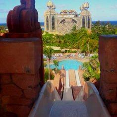 Slide. Atlantis Resort. Bahamas