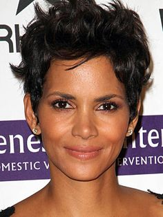 Halle Berry Hairstyles - April 14, 2012 - DailyMakeover.com