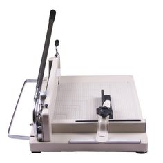 "Amzdeal A3 Paper Cutter 17"" Trimmer Machine Easily Cut 80g Paper 400 Sheets High or Approx 1.5"" Hardened Steel Blade Industrial Precise and Thick High Quality"