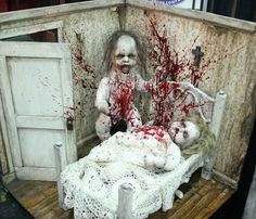 "Gotta check this out ""Midwest Haunters Convention"" Creepy Halloween Party, Halloween Doll, Halloween Haunted Houses, Halloween Projects, Halloween Horror, Halloween House, Halloween Cosplay, Holidays Halloween, Halloween Themes"