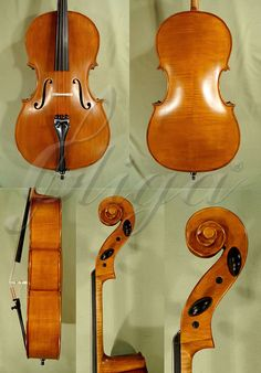 NEW STUDENT 7/8 GEMS 2 ANTIQUED CELLO FOR SALE CODE: C2640