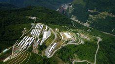 Proyecto Hidroeléctrico Ituango. Construido por el Consorcio CCC Ituango. Ituango, Antioquia, Colombia. Obra en ejecución Barranquilla, Cartagena, Wine Cellars, Countries, Architecture
