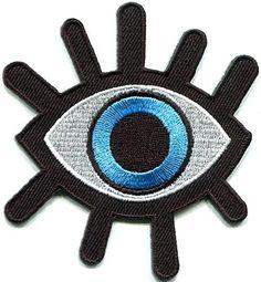 Eye eyeball tattoo wicca occult goth punk retro applique iron-on patch TKPatch http://www.amazon.com/dp/B00RFDFDTS/ref=cm_sw_r_pi_dp_qDrUwb0B4QRBT