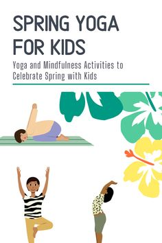 Kids yoga poses and mindfulness agames and activities for spring! Spring themed yoga for kids is so fun and adaptable for every age :) Movement Activities, Fun Activities For Kids, Games For Kids, Motor Activities, Kids Fun, Kids Yoga Poses, Yoga For Kids, Mindfulness For Kids, Mindfulness Activities