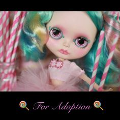 Candy, my latest Custom Blythe doll, is looking for a new home
