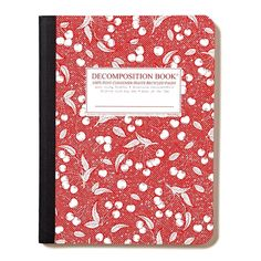 Recycled Composition Notebook | Decomposition Book | Porterhouse ($8) ❤ liked on Polyvore featuring home, home decor and stationery