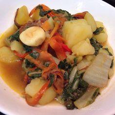 homECooking — Viernes de Acelgas con Patatas con Salteado de...