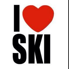 Skiing + Snow = Me