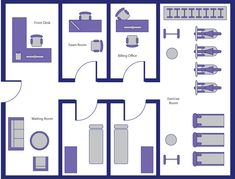 physical therapy room layout - Google Search
